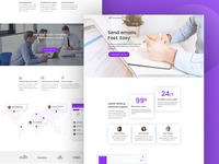 Email Monitor Landing Page