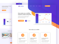 Analytica Landing page