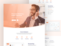 Experimental landing page for Software Solutions