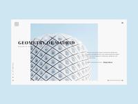 Architecture website Header