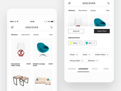 E-commerce UI Design ux uidesign ui shoppingcart shoppingbag shop ecommerce design business app