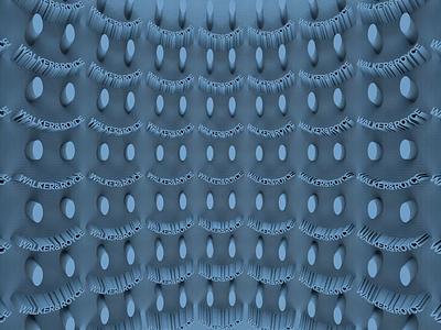 Walker&Royce. housemusic techno walkerroyce typography after effects adobe motion kinetictypography kinetictype cinema4d c4d behance animation