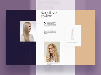 Inner Page Animation Concpet design dribbble cute animation creative clean after affects