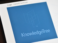 KnowledgeTree logo construction
