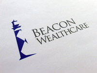 Beacon Wealtchare Logo Design