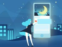 Illustrations About Mobile Phones