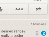 Question page UI Detail