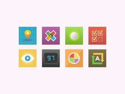 iOS Home Screen Icons