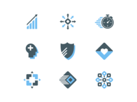 Boxout brand icons