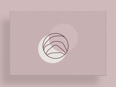 Postcard illustration mark visual design identity logo branding