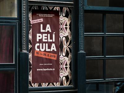 Spanish Festival Poster poster a day almodovar pattern design posterart poster pattern visual design branding