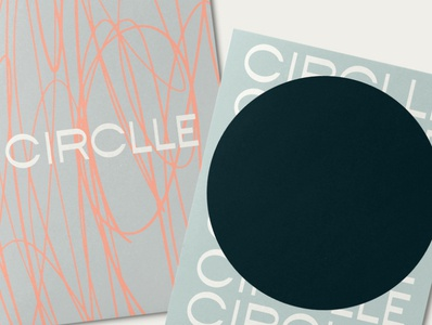 CIRCLLE Brand Identity collateral fashion brandign designer logotype graphicdesign visual design visual identity brand identity branding sustainablefashion sustainable circulareconomy