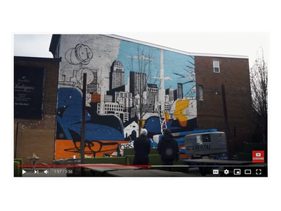 Rabbit Hole x Jeremy Booth mural short doc. illustration art muralart video mural
