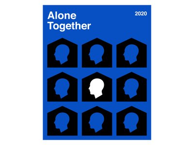 Alone Together poster alone stayhome covid19