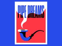 Pipe Dreams illustration vector smoke pipe