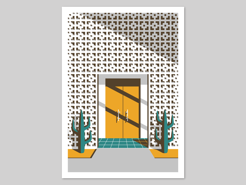 sc 1 st  Dribbble & Through The Yellow Door by Jeremy Booth - Dribbble