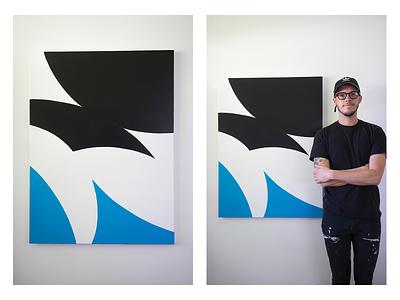 Empathy - Acrylic on Canvas abstract canvas acrylic artwork art