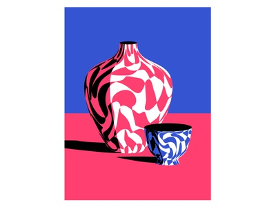 Vase and a Bowl