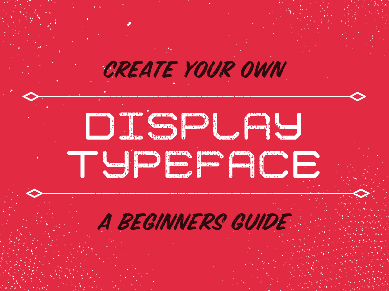 Creating a Display Typeface Class my voice is weird illustrator glyphs class typography display font