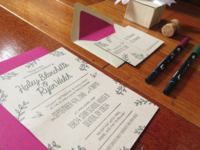 Fresh Pressed Studio - Wedding Invites