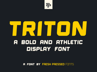Triton Display Font
