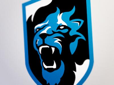 Dribbble lions