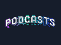 Podcasts Lettering