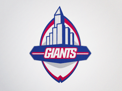 New York Giants Logo By Ryan Welch Dribbble