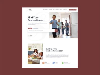 property website ux design ui web property website realestate