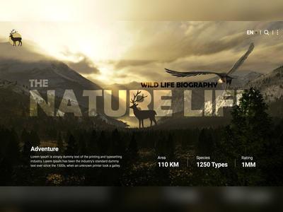 Nature life Website Banner