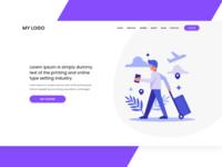 Minimal Travel Website
