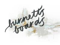 Burnett's Boards: branding + blog design