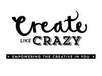 create like crazy logo