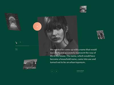 Sretenka  |  House — Concept 1. dribbble inspiration layouts website luxury concept branding modern typography layout interface idaproject house clean grid design ui ux real estate desktop