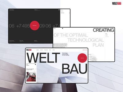 Weltbau |  Development concept swiss homepage interface ux ui layout dribbble hello dribble desktop design real estate clean brutalism digital branding modern grid web design idaproject