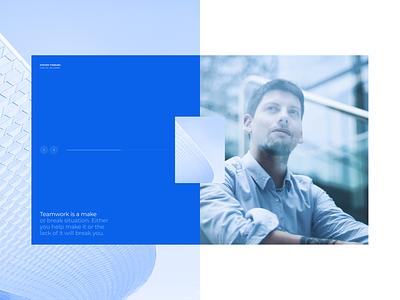 Jelezno | Development 2.0 agency testimonals quote industry digital dribbble desktop concept web brand minimal typography ux ui clean interface layout grid design real estate