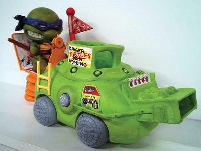Donatello Does Machines Close Up