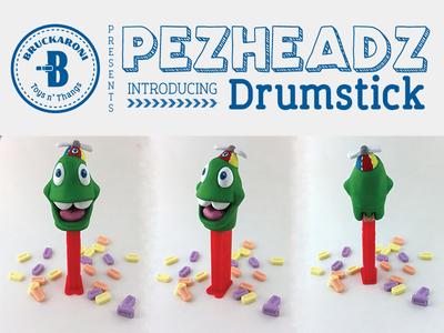 Pezheadz: Drumstick