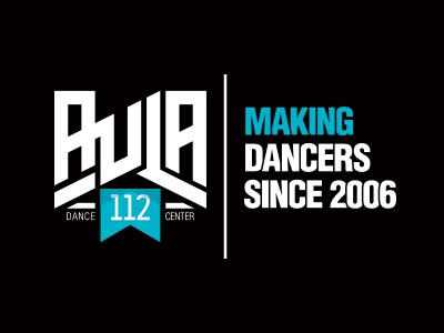 Aula 112 Dance Center dancers dancecenter dance logo vector