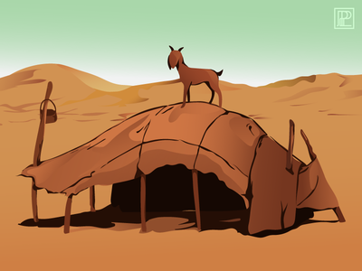 Tinariwen tribute 2 practice inspired tinariwen vector colours illustration design
