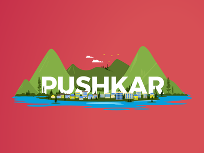 Top monsoon destinations - Pushkar redbus colours india illustration design