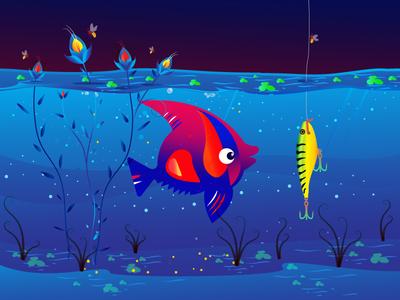 BAIT. practice day3 inktober2019 vector colours india illustration design