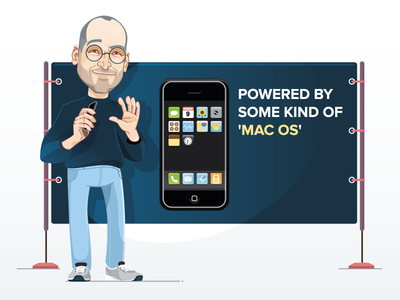An Illustrated History of iOS °1 / iPhone OS 1