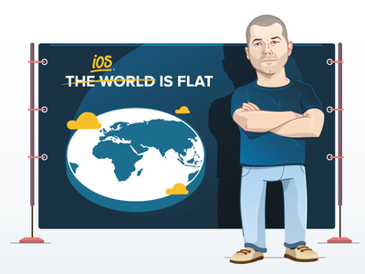 An Illustrated History of iOS °7 / iOS 7