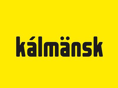 Kalmansk Free Font sweets packaging cartoon big narrow bold kalmansk type typography font freebie