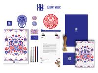 Elegant Music Visual Identity | Stationary 01