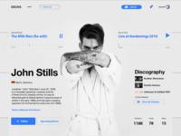 #006 User Profile | 100 Days of UI