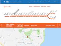 029 Map | 100 Days of UI Design