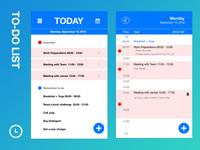042 ToDo List | 100 Days of UI Design