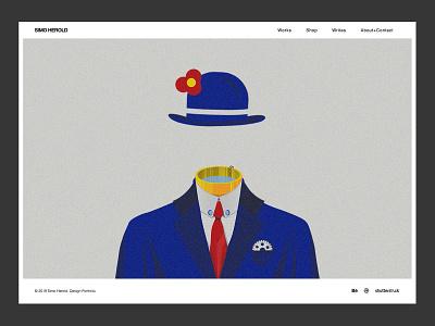 New Portfolio Look 2019 design personal brand website illustration minimal uidesign portfolio art web design
